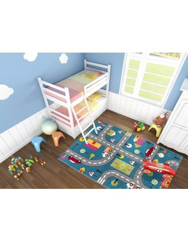 tapis circuit pour enfant disponibles en 2 tailles. Black Bedroom Furniture Sets. Home Design Ideas