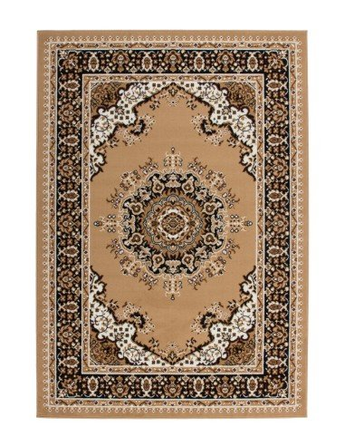 tapis beige oriental pas cher rohullah. Black Bedroom Furniture Sets. Home Design Ideas