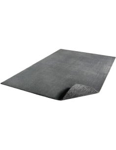 Tapis lavable en machine Gris Anthracite 120 x 230 cm Feel