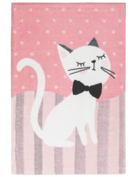 Tapis Chaton Rose