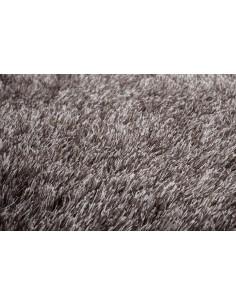 tapis shaggy gris fonc argent diamond. Black Bedroom Furniture Sets. Home Design Ideas