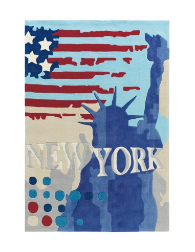 tapis new york grande taille statut de la libert arte espina. Black Bedroom Furniture Sets. Home Design Ideas