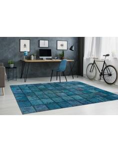 Tapis-cuir-motif-patchwork